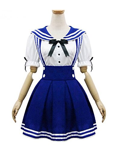 Moon Soul Japan School Uniform Cosplay Costume Anime Girl Maid Sailor Lolita Dress