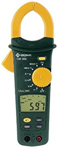 Greenlee CM-950 AC/DC True RMS Clamp Meter at Sears.com