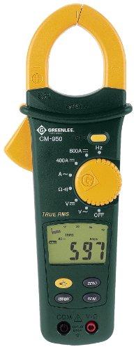 Greenlee CM-950 AC/DC True RMS Clamp Meter