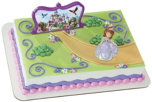 Decopac Sofia The First Sofia and Castle DecoSet Cake Topper