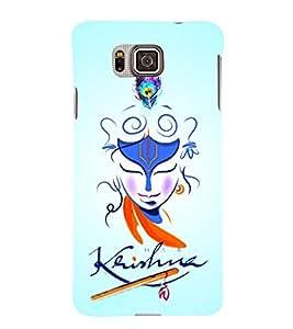 Lord Sri Krishna Ji 3D Hard Polycarbonate Designer Back Case Cover for Samsung Galaxy Alpha G850
