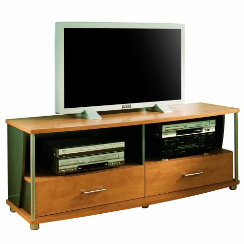south shore furniture city life collection 50 inch tv stand honeydew and charcoal entertainment. Black Bedroom Furniture Sets. Home Design Ideas