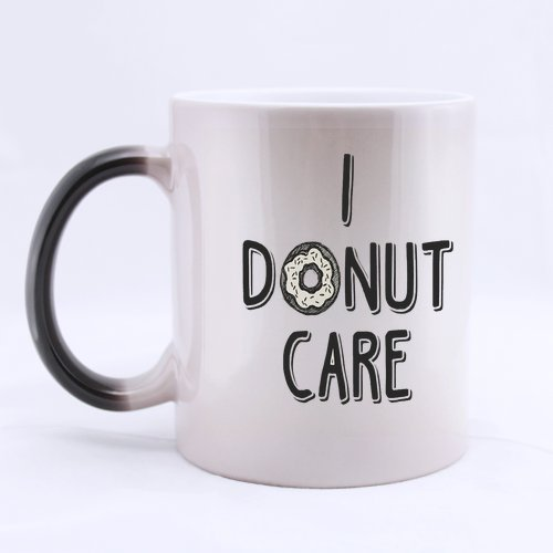 ARTSWOW I Donut Care Custom Cramic 11 oz tazza Magic cambia colore, sensibile al calore