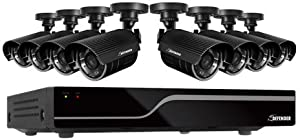 DEFENDER 21029 SENTINEL 8-Channel Smart Security DVR with 8 Hi-Res Outdoor Security Cameras