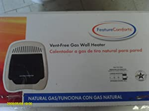 Feature Comforts Vent Free Gas Wall Heater Amazon Com