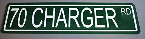 """Metal Street Sign 1970 """" 70 Charger Rd"""