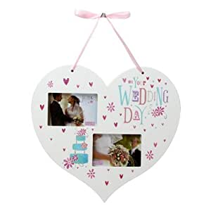 Wedding Gift Experience Days : The Gift Experience Cornice per foto, Wedding Day Hanging Heart Photo ...