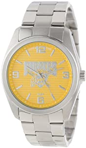 Game Time Unisex MLB-ELI-PIT Elite Pittsburgh Pirates 3-Hand Analog Watch by Game Time