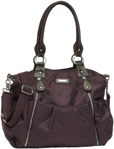 Storksak Olivia Diaper Bag, Mulberry - 1