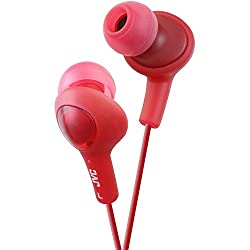 JVC - HA-FX5-R-JVC Gummy Plus In-Ear Headphones