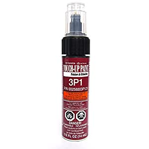 Genuine Toyota 00258-003P1-21 Red Pearl Touch-Up Paint Pen (.44 fl oz, 13 ml)