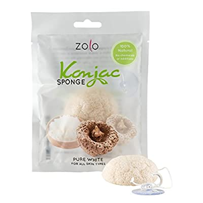 Cheapest Natural Konjac Facial Cleanser - Bath Sponge for Facial Care and Body Wash from Zolo - Free Shipping Available
