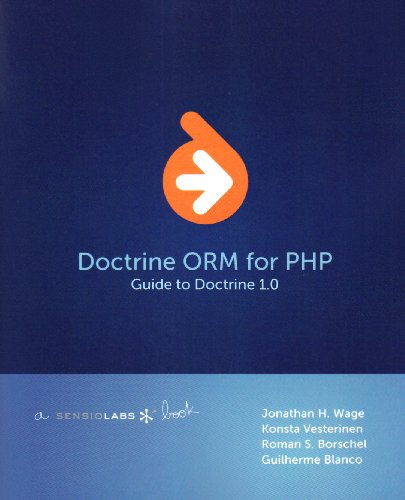 Large book cover: Doctrine ORM for PHP