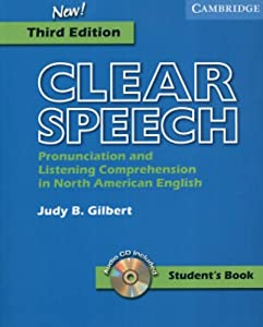 Clear Speech Student's Book with Audio CD: Pronunciation