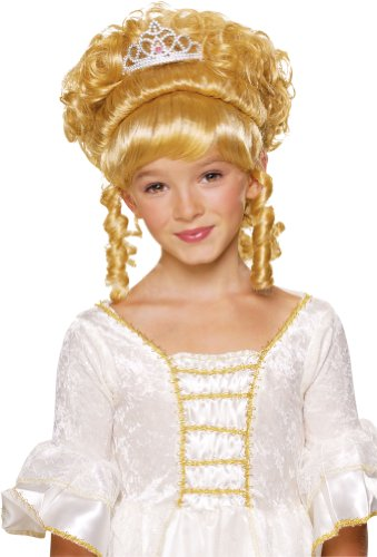 Rubies Child'S Charming Princess Blonde Costume Wig front-1026310