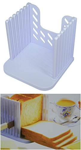 Excelity®Bread Cut Loaf Slicer Cutter Mold Maker Even Slicing Cutting Guide Kitchen Tool (Bread Crumb Machine compare prices)