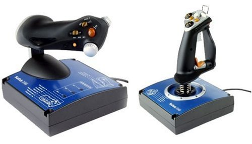 Saitek J24C X45 Flight Control System Joystick and Throttle (USB)