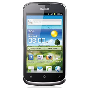 Huawei Ascend G300 Smartphone Monobloc tout tactile Android Bluetooth Chrome