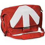 """Manfrotto MB SM390-5RW Stile Unica V Sac d'épaule Messenger pour Reflex + Ordinateur portable 15.4"""" + Effets personnels Taille Grand Rouge Edition Limitée"""