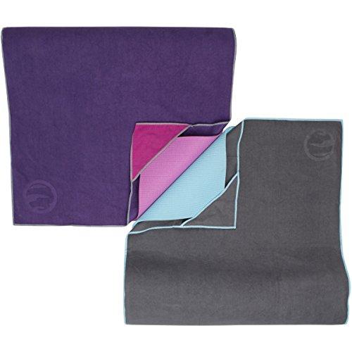 Anti-Slip Wet Grip Design Super Absorbent Antimicrobial Protection Joyne Tola/™ Non Slip Yoga Towel #1 Best Hot Yoga Towel for Yogis Who Sweat Skidless