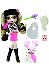 The Bridge Direct Pinkie Cooper Travel Pinkie in Paris Collection Doll with Pet