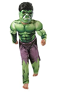 Hulk Deluxe Costume - Childrens Fancy Dress Costume