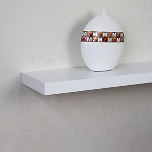 ellehome michigan floating wall shelf 24 l x. Black Bedroom Furniture Sets. Home Design Ideas