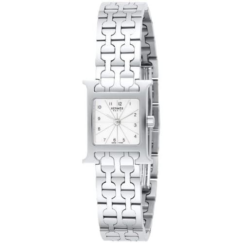 [エルメス]HERMES 腕時計 Hウオッチミニ ホワイトパール文字盤 HH1110.212.4835 レディース 【並行輸入品】