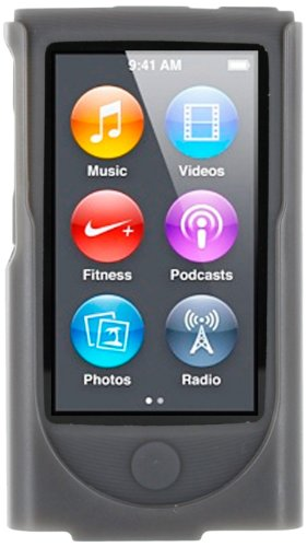 roocase-apple-ipod-nano-7-7th-generation-hybrid-silicone-case-with-detachable-holster-clip-slate