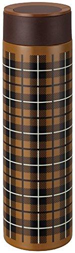 ピーコック ステンレスボトル 【マグタイプ】 0.5L トラッドチェックブラウン FJK-50