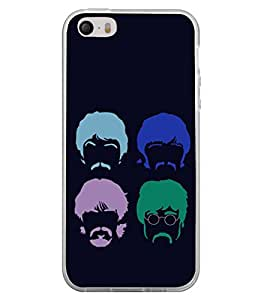 Faces 2D Hard Polycarbonate Designer Back Case Cover for Apple iPhone 5