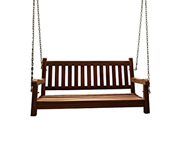 SAM® A Klasse Teak Holz Gartenschaukel, Gartenbank, Sitzbank, 120 cm, Sabina von SAM® auf Gartenmöbel von Du und Dein Garten