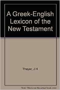 a greek english lexicon of the new testament pdf