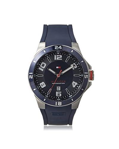 Tommy Hilfiger Men's 1790862 Black/Blue Stainless Steel Watch