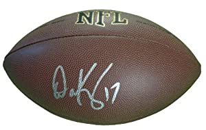 Dave Krieg Autographed Signed NFL Wilson Composite Football, Seattle Seahawks, Kansas... by Southwestconnection-Memorabilia