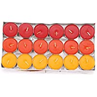 Elegane Tea Light Fragrances Mango Papaya Candle Pack Of 36