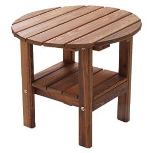 Great American Woodies Vintage America Round Side Table
