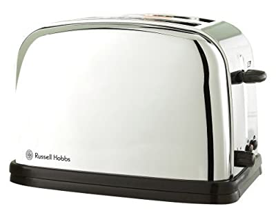 CLASSIC 2 SLICE STAINLESS STEEL TOASTER by Russell Hobbs from Russell Hobbs