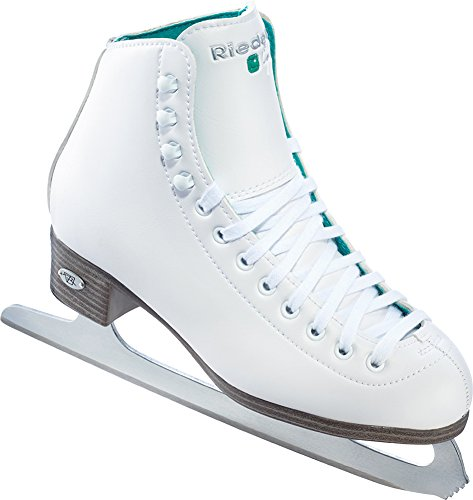 Riedell 2015 Figure Skates Model 110 Opal (White, 10) (Ice Skate Shoes Men compare prices)