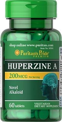 Puritan's Pride Huperzine A 200 mcg-60 Tablets