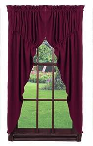 Amazoncom IHF Home Decor New Prairie Curtain Burlap