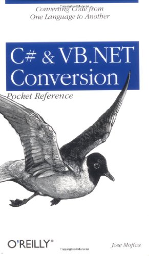 C# and VB .NET Conversion Pocket Reference