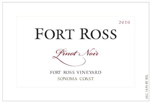 2010 Fort Ross Pinot Noir, Sonoma Coast 750 Ml