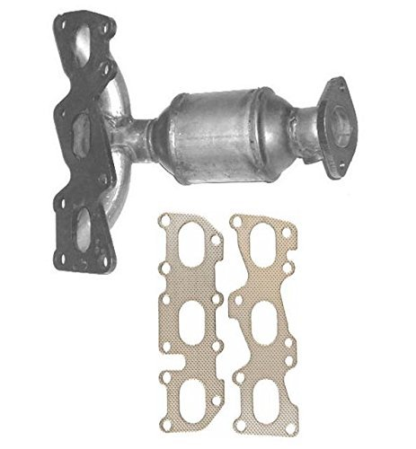mac-auto-parts-133033-sante-fe-33l-front-radiator-manifold-catalytic-converter-wgasket-cc1847xl