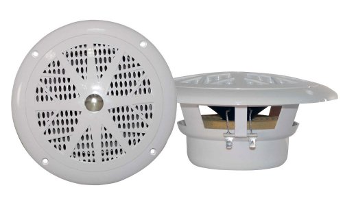 Pyle Plmr41W 4-Inch Dual Cone Waterproof Stereo Speaker System