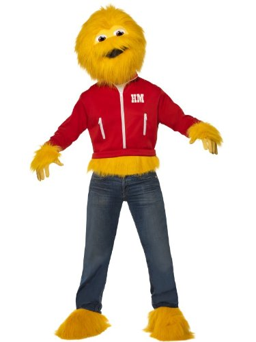 Honey Monster Mens Fancy Dress Costume Suagr Puffs Med