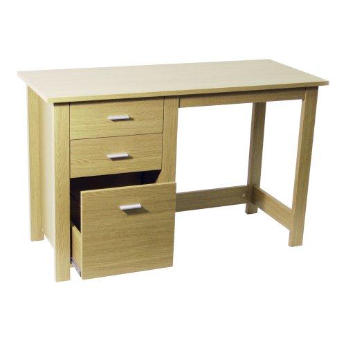 Dresser unit Office furniture Milan White Gloss Computer Desk Workstation