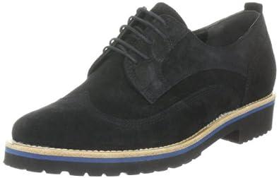 Högl shoe fashion GmbH 4-102022-01000, Damen Klassischer Schnürer, Schwarz (schwarz 100), EU 35 (UK 3) (US 3)