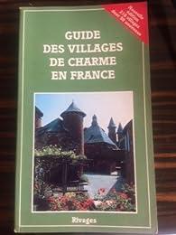 Guide des villages de charme en France