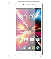 Scudomax Tempered Glass Screen Scratch Guard Protector for Reliance LYF Jio Water 1